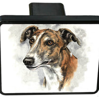 Greyhound Trailer Hitch Cover