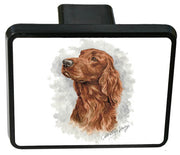 Irish Setter Trailer Hitch Cover