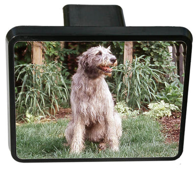 Irish Wolfhound Trailer Hitch Cover