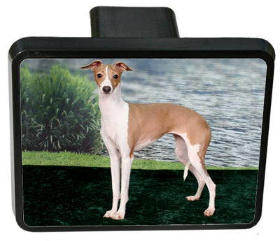 Italian Greyhound Trailer Hitch Cover