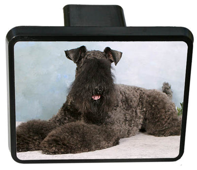 Kerry Blue Terrier Trailer Hitch Cover