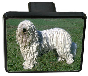 Komondor Trailer Hitch Cover
