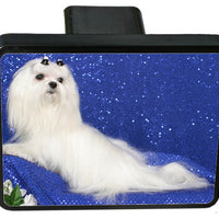Maltese Trailer Hitch Cover