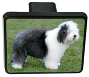 Old English Sheepdog Trailer Hitch Cover