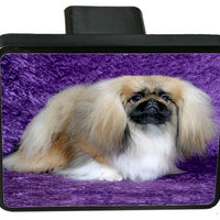 Pekingese Trailer Hitch Cover