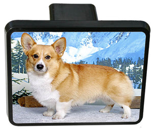Pembroke Welsh Corgi Trailer Hitch Cover