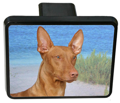Pharaoh Hound Trailer Hitch Cover