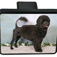 Portugese Water Dog Trailer Hitch Cover
