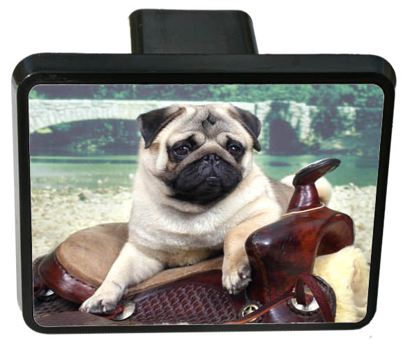 Pug Trailer Hitch Cover
