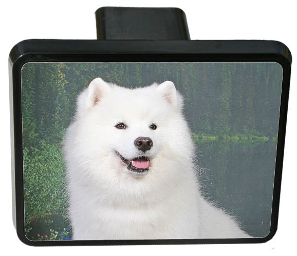 Samoyed Trailer Hitch Cover