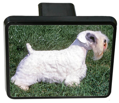 Sealyham Terrier Trailer Hitch Cover