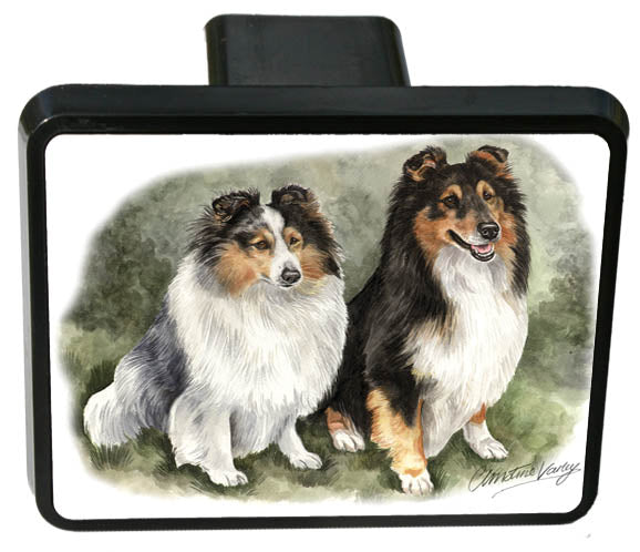 Shetland Sheepdog Trailer Hitch Cover
