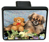 Tibetan Spaniel Trailer Hitch Cover