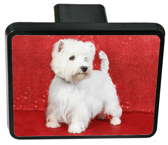 West Highland White Terrier Trailer Hitch Cover