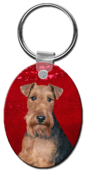 Airedale Terrier  Key Chain