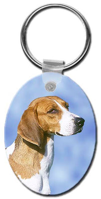 American Foxhound  Key Chain