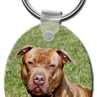 American Pitbull  Key Chain