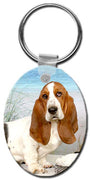 Basset Hound  Key Chain
