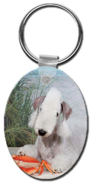 Bedlington Terrier  Key Chain
