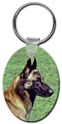 Belgian Malinois  Key Chain