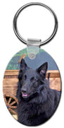 Belgian Sheepdog  Key Chain