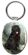 Black Russian  Key Chain