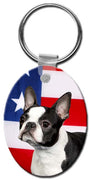 Boston Terrier  Key Chain