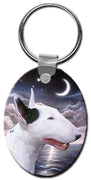 Bull Terrier  Key Chain