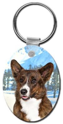 Cardigan Welsh Corgi  Key Chain