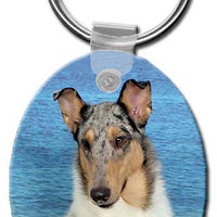 Collie Smooth  Key Chain