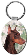 Doberman Pinscher  Key Chain