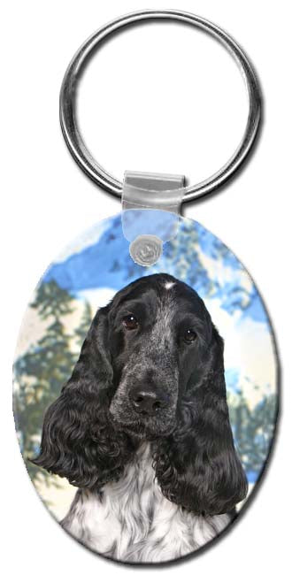 English Cocker  Key Chain