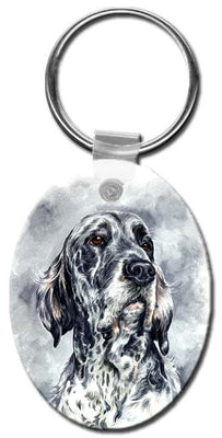 English Setter  Key Chain