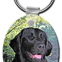 Flat Coated Retriever  Key Chain