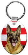 German Shepherd  Key Chain
