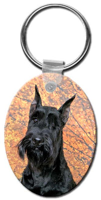 Giant Schnauzer  Key Chain