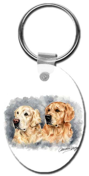 Golden Retriever  Key Chain