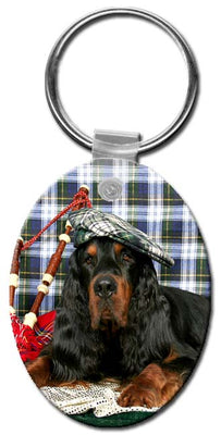 Gordon Setter  Key Chain