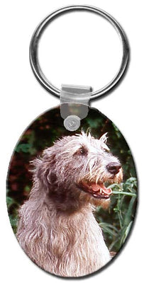 Irish Wolfhound  Key Chain