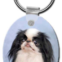 Japanese Chin  Key Chain
