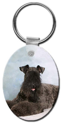 Kerry Blue Terrier  Key Chain