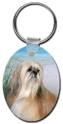 Lhasa Apso  Key Chain
