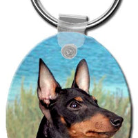 Manchester Terrier  Key Chain