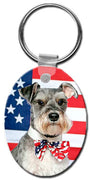 Miniature Schnauzer  Key Chain