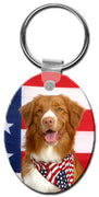 Nova Scotia Duck Toller  Key Chain
