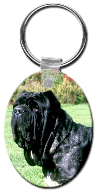 Neapolitan Mastiff  Key Chain