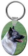Norwegian Elkhound  Key Chain