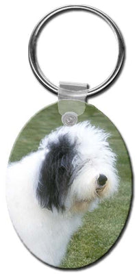 Old English Sheepdog  Key Chain