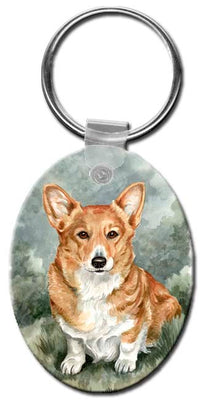 Pembroke Welsh Corgi  Key Chain