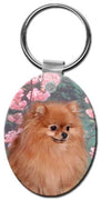 Pomeranian  Key Chain
